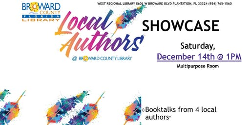 Local Authors Showcase @West Regional Library