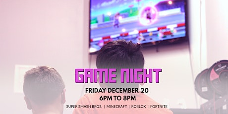Game Night | December 20 tickets