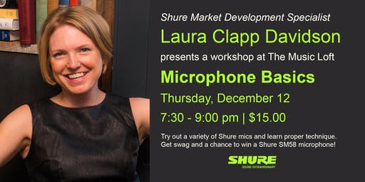 Microphone Basics with Laura Clapp Davidson