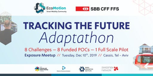 SBB Tracking the Future Adaptathon - Exposure Meetup