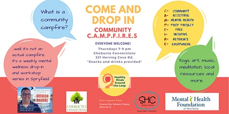Community Drop-In Group - CAMPFIREs tickets