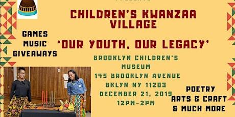 Children's Kwanzaa Village 2019 tickets