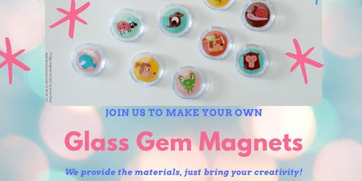 Glass Gem Magnets