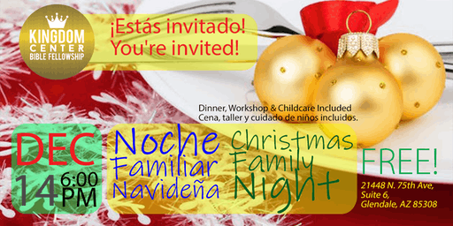 Noche Familiar Navideña | Christmas Family Night - DEC14
