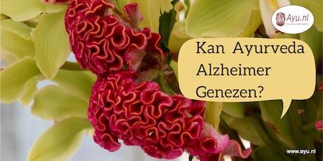 Kan Ayurveda Alzheimer Genezen? tickets