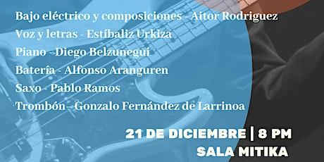 Concierto Aitor Rodriguez Sexteto entradas