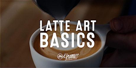 January 25th Latte Art Class  tickets