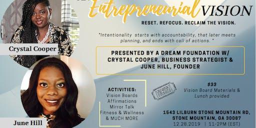 An Entrepreneurial Vision