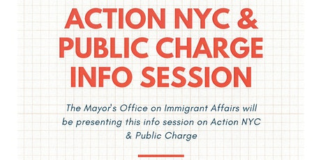 Action NYC & Public Charge Info Session tickets