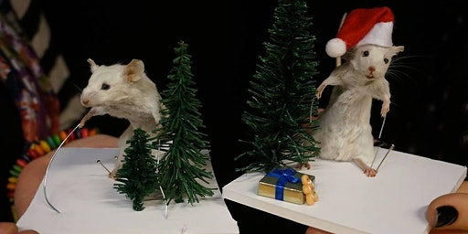 Xmas Themed Mouse Taxidermy Class
