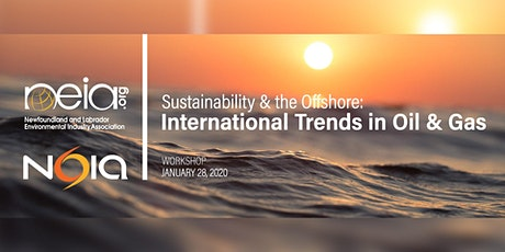 Sustainability & the Offshore: International Trends in Oil and Gas tickets