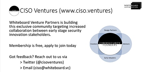 CISO Ventures Panel: SF Bay Area 2020 tickets