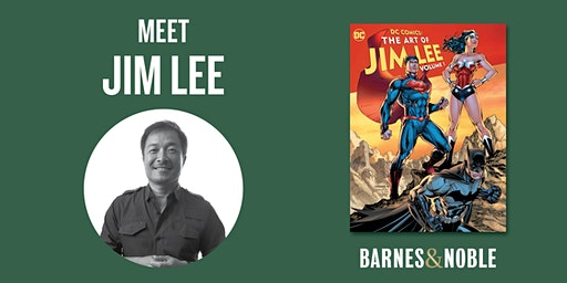 Jim Lee signs DC COMICS at Barnes & Noble - The Grove