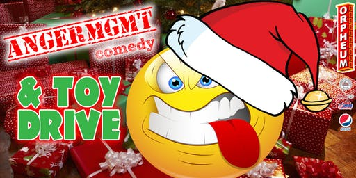 Anger Management Comedy Show & Toy Drive