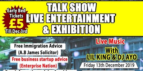 An Evening of Education Entertainment and Exhibition tickets