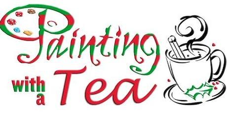 "Christmas Tea: ""Painting with a Tea"" tickets"