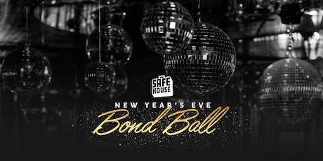 New Year's Eve Bond Ball tickets