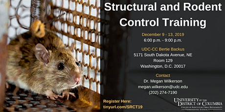 Structural and Rodent Control Training tickets
