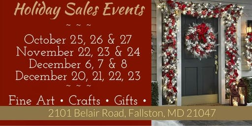 Art to Soul Galleria's  Handmade Holiday Glitz, Glitter & Gifts Sales Event