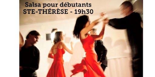 STE-THÉRÈSE - Danse SALSA - cours pour débutant 20$