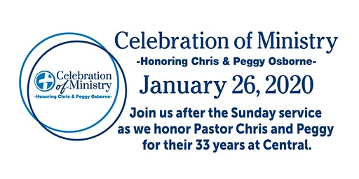 Celebration of Ministry - Chris & Peggy Osborne