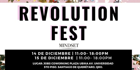 REVOLUTION FEST | MINDSET tickets