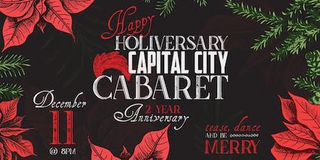 Capital City Cabaret Holiday Show tickets