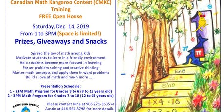 FREE Learning Math Event (for Parents and Students) with Prizes tickets