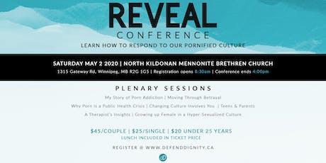 REVEAL Winnipeg- May 2020 tickets