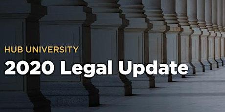 [San Diego] HUB University: 2020 Legal Update tickets