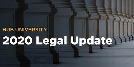 [Carlsbad] HUB University: 2020 Legal Update