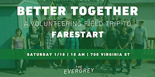 Better Together: A Volunteering Field Trip to FareStart