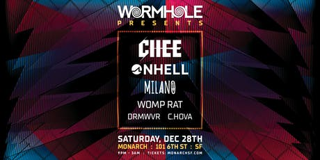 Chee, ONHELL, Milano & more: Wormhole x Monarch tickets