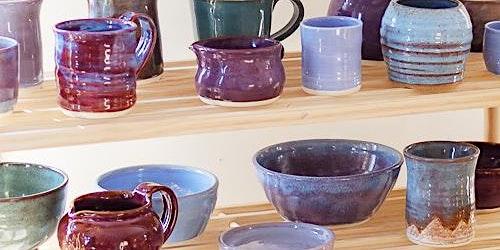 Handbuilding in Clay (Tuesday afternoon) 6-week Artist Series