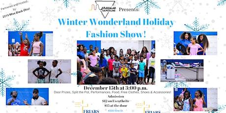 Winter Wonderland Holiday Fashion Show tickets