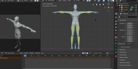 3D Animation with Blender 2.8 Part II: Character Rigging tickets
