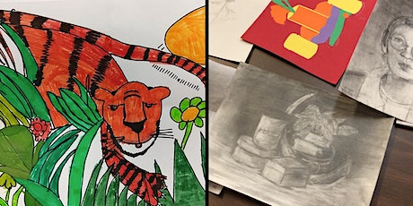 Shelf Life Kids Art Class PREVIEW with Nina Green for Grades K-5 and 6-9 tickets