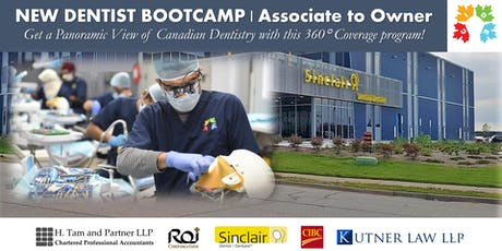NEW DENTIST BOOTCAMP - Associate to Owner tickets