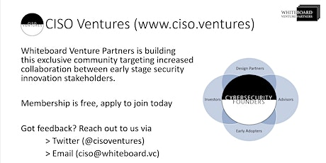 CISO Ventures Panel: Seattle 2020 tickets