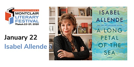 Book Tour – Isabel Allende: A Long Petal of the Sea tickets