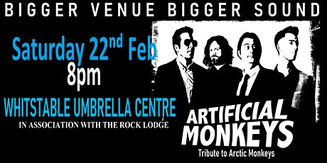 Artificial Monkeys (Arctic Monkeys Tribute) live in Whitstable tickets