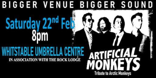 Artificial Monkeys (Arctic Monkeys Tribute) live in Whitstable