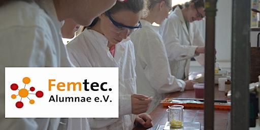 Girls, Macht MI(N)T! Experimentiervormittag vom Femtec.Alumnae e. V.