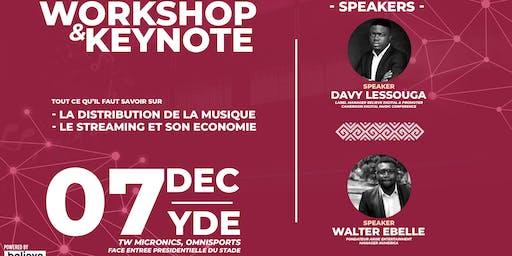 Workshop & Keynote : Distribution de Musique et Economie du Streaming