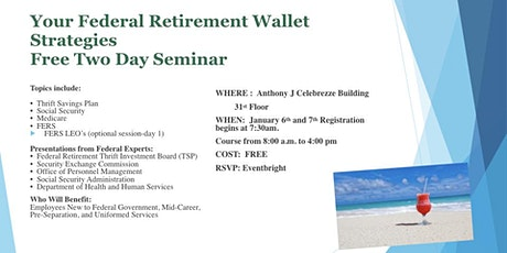 Your Federal Retirement Wallet tickets