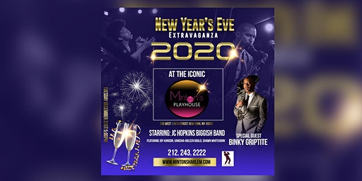 NEW YEAR'S EVE PARTY AT MINTON'S PLAYHOUSE