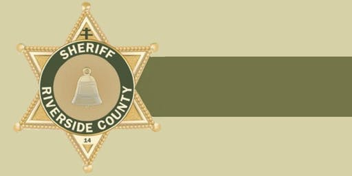 Riverside County Sheriff's Department Information Session