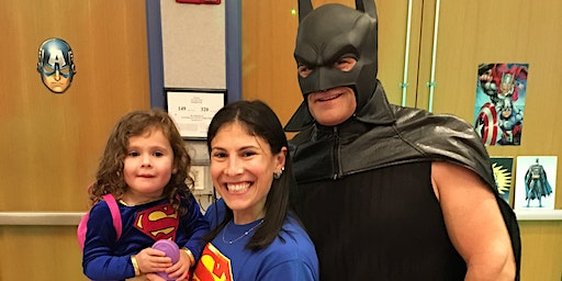 5th Annual Calling All Superheroes Party!