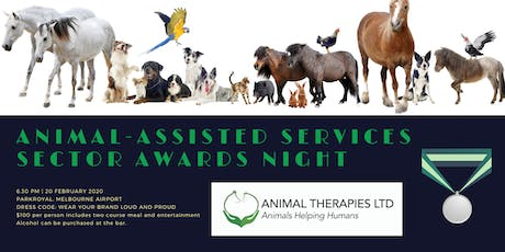 Animal Therapies Ltd Awards Dinner tickets