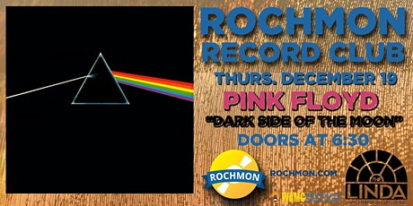 """ROCHMON RECORD CLUB   PINK FLOYD """"THE DARK SIDE OF THE MOON"""" IN 5.1 tickets"""